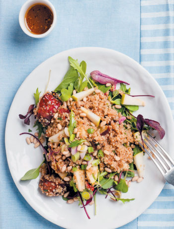 Quinoa, sweet potato and apple salad recipe