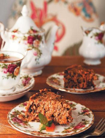 Raw and fresh carrot cake recipe