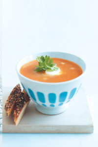 Red curry sweet potato soup recipe