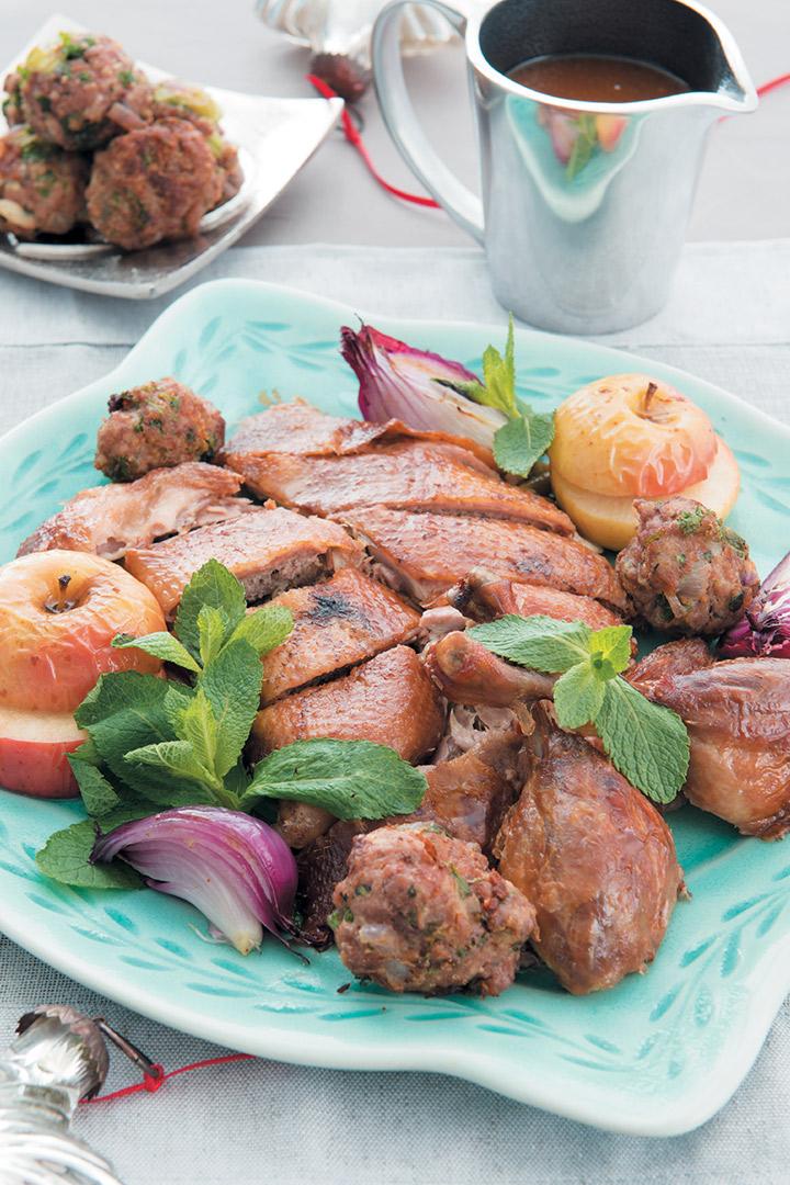 Rich and succulent roast duck recipe