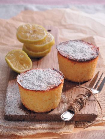 Ricotta and lemon cakes recipe