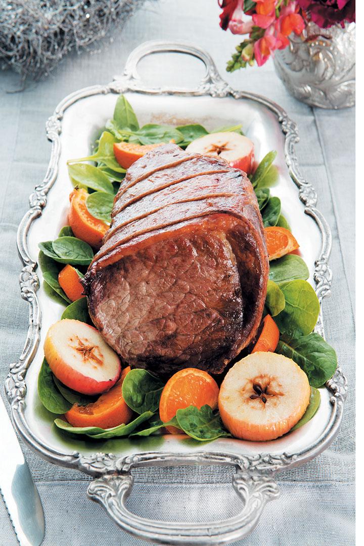 Roast sirloin of beef recipe