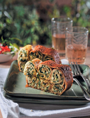 Spinach pancake cannelloni recipe