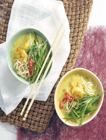 Thai prawn curry laksa recipe