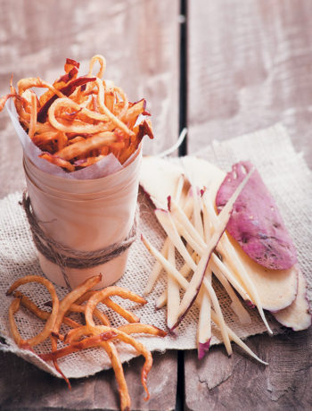 The ultimate sweet potato French fry recipe