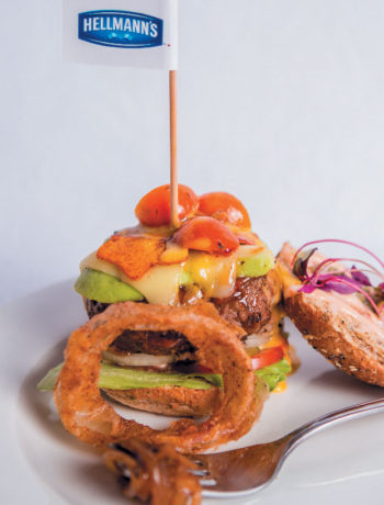 Unilever Food Solutions Plate to Win winning burger recipe