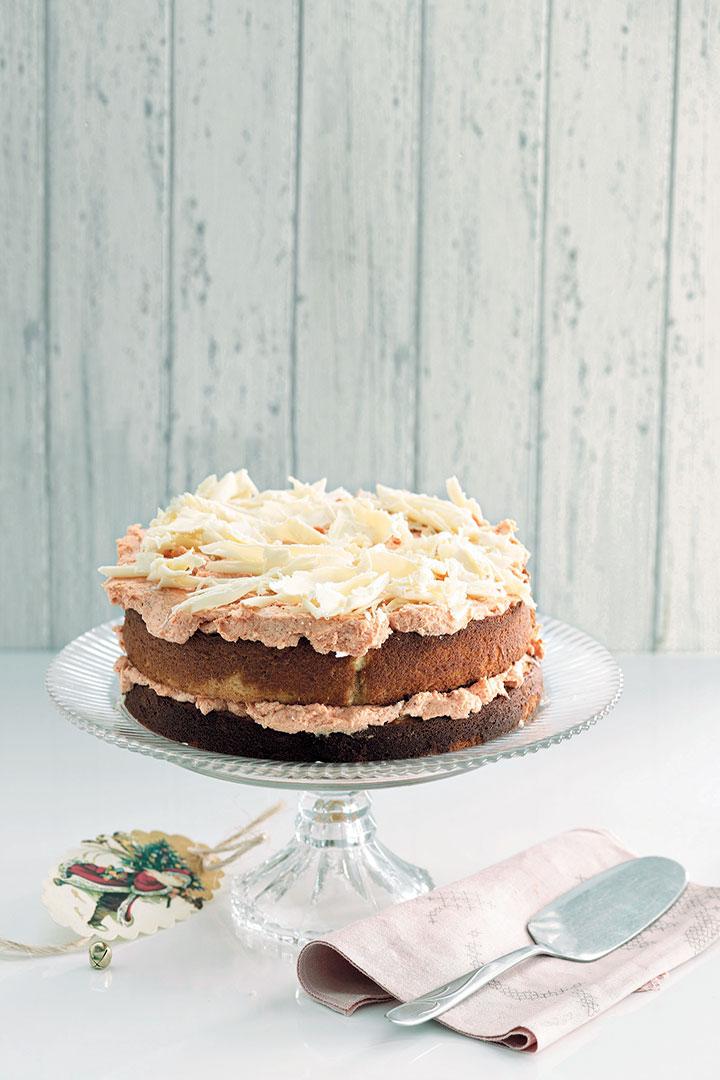 White chocolate and guava cake recipe