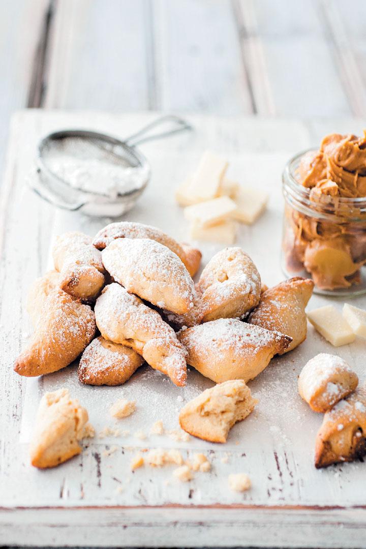 White chocolate and peanut butter biscotti recipe