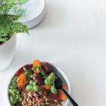 Lentil and herb tabbouleh