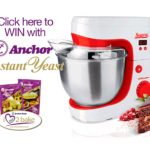Win a Mellerware Supra Stand Mixer 600W 4.3L with Anchor Yeast