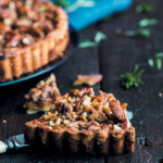 Pecan nut tart with fynbos honey