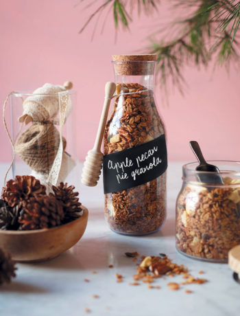 Apple and pecan pie granola