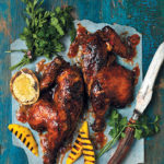 Hickory-smoked peri-peri chicken