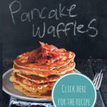 Savoury pancake waffles