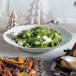 Three-pea salad with mint dressing