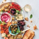 Festive antipasti sharing platter