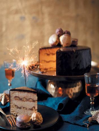 Frozen tiramisu mousse cake recipe