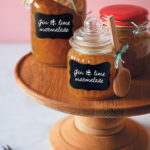Gin and lime marmalade