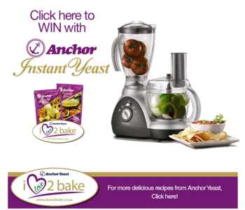 Win a Mellerware 3-in-1 Food Processor with Juicer - Anchor Yeast
