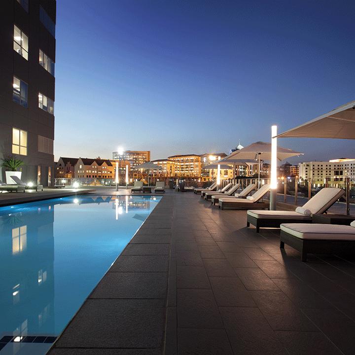 Radisson Blu Hotel Sandton Pool