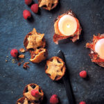 Spiced apple, almond and cranberry mince pies