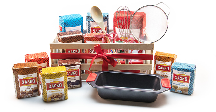 Whip up delicious baked goods with SASKO and WIN