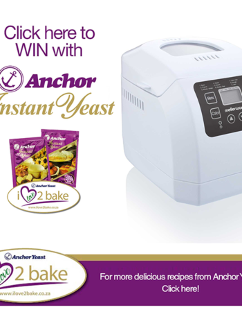 Win a Mellerware Breadmaker 600W with Anchor Yeast