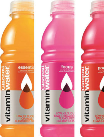 Kick-start your summer with a Glaceau vitaminwater hamper