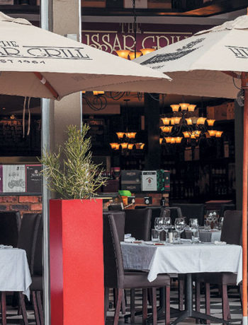 The Hussar Grill in Johannesburg