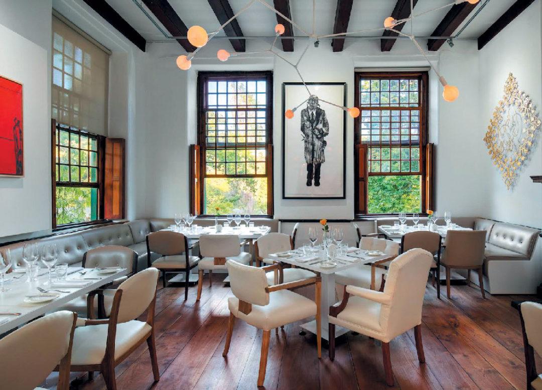 Blanko restaurant in Cape Town