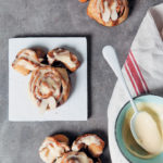 Easter cinnabunnies with a cream-cheese glaze – Junior Chef