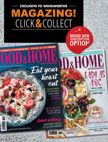 Magazing subscription exclusive to Woolworths