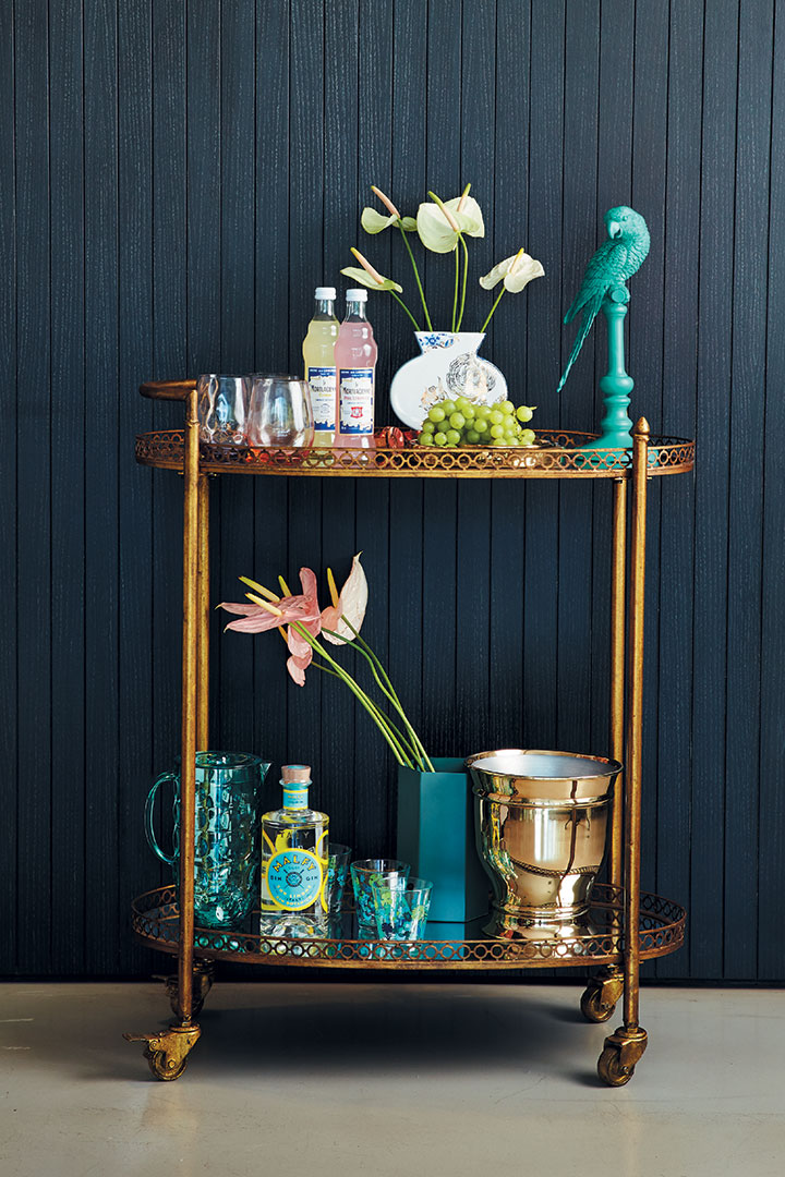 3 Ways To Style Your Drink Trolley Food Amp Home Entertaining