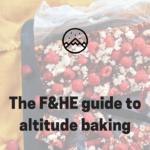Baking at sea level (high altitude baking)