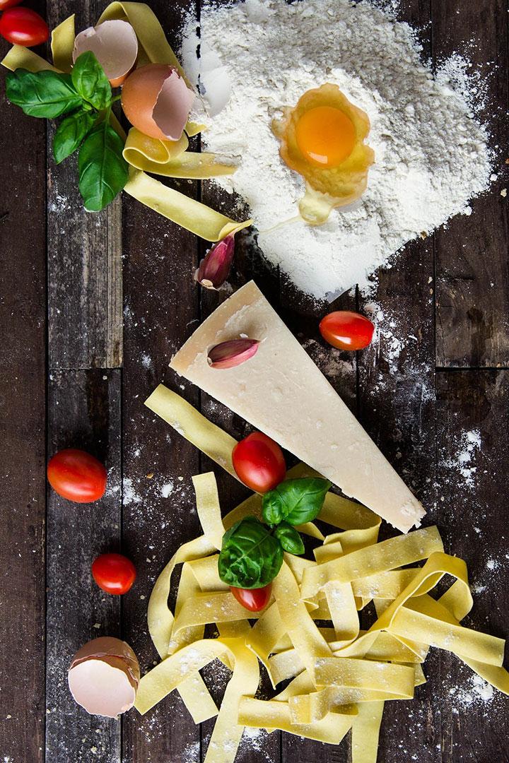 10 Italian Food Pas