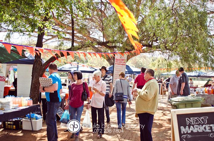 Banting market in Pretoria