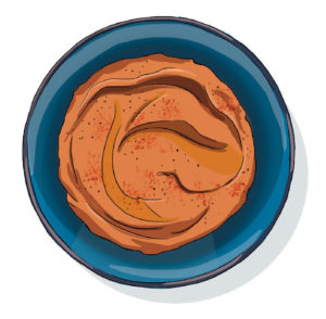 Butterbean and paprika hummus