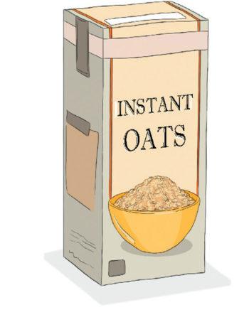 Pantry hacks: Instant oats