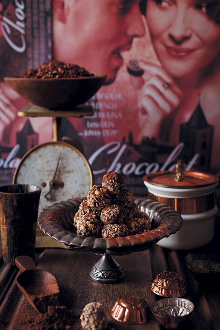 La Chocolaterie Maya Truffles recipe