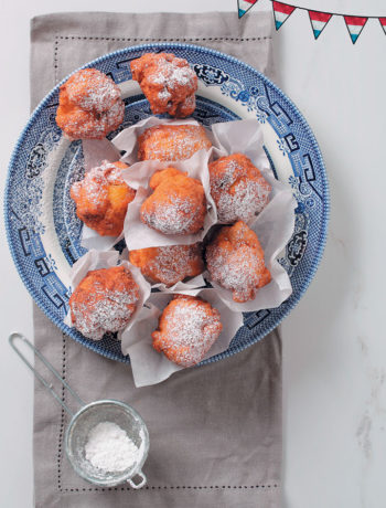 Traditional Dutch Oliebollen recipe from Food & Home Entertaining