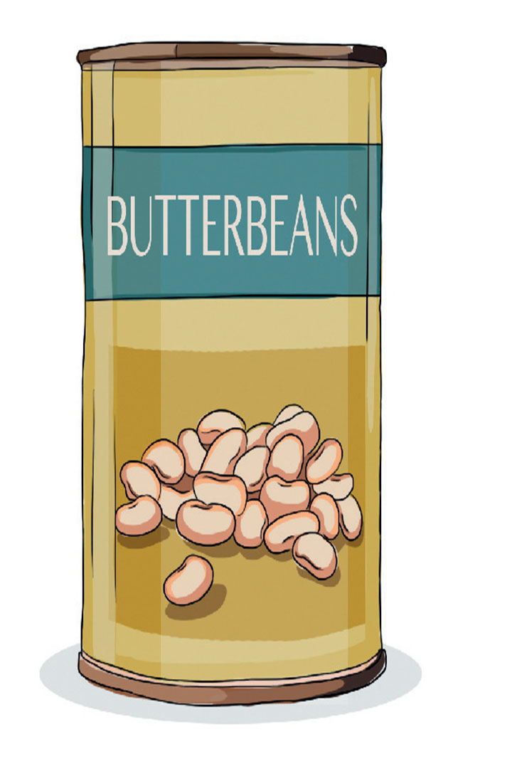 Pantry hacks: Butterbeans