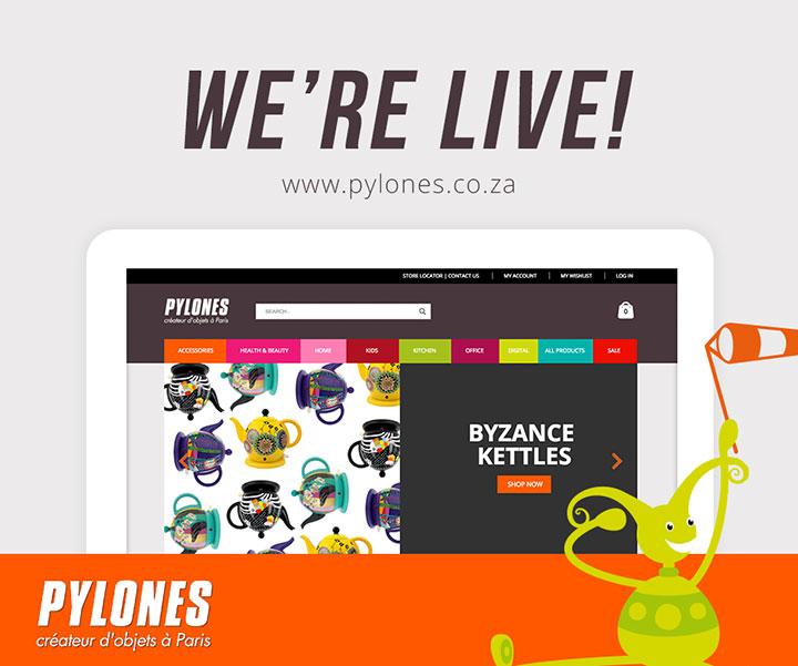 Pylones launches new website