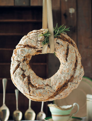 Rosemary, brown butter and cracked black pepper soda bread