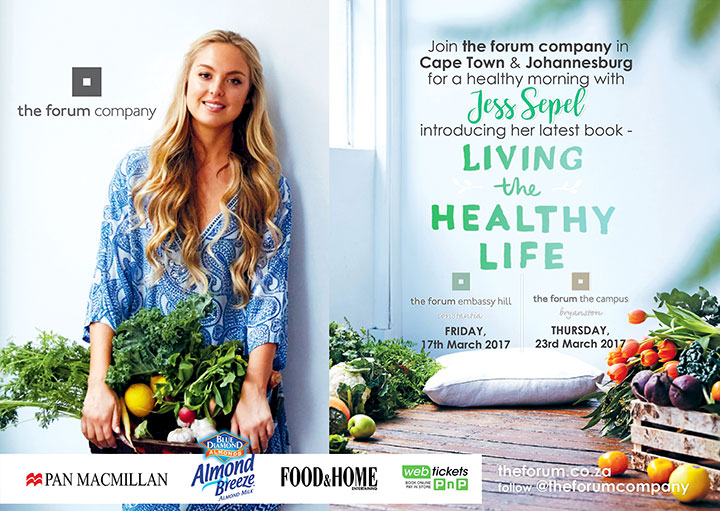 WIN a signed cookbook and tickets to see Jess Sepel