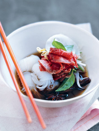 Beef pho recipe by Food and Home Entertaining