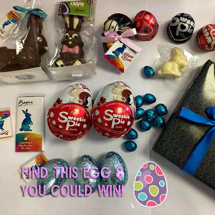 Win an Easter Chocolate hamper filled with Beyers Easter treats