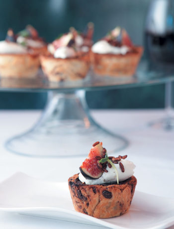 Chocolate pasteis de nata by Chef Alfred Henry