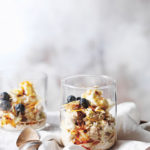 Cinnamon, cardamom & orange zest bircher muesli by Jess Sepel