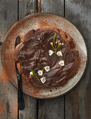 Sarah Graham's Ultimate Chocolate Cake with Coffee Ganache
