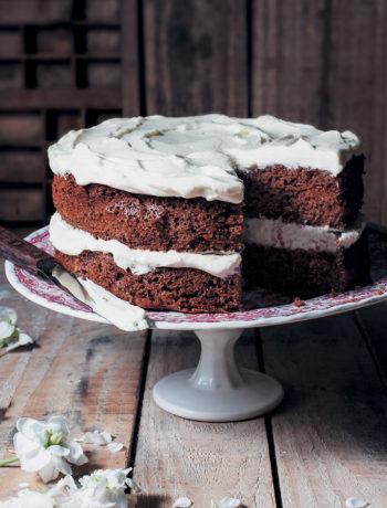 Chocolate-coffee cake recipe